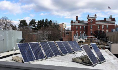Clark University Rooftop Solar