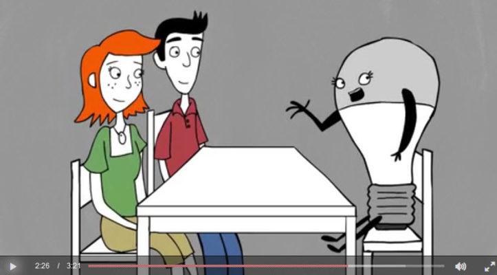 Mass Save video - light bulb interview