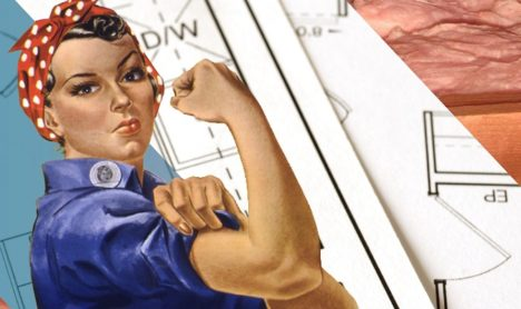 Ingrid the Insulator - We Can Do It - Women's History Month