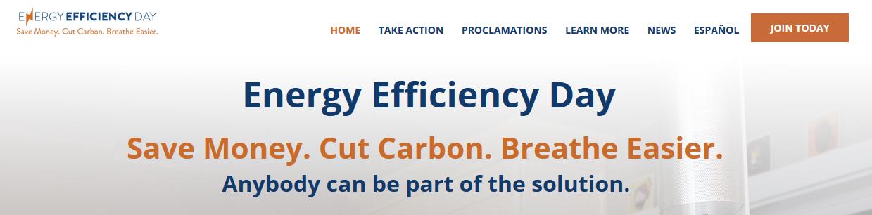 EEDay Save Money. Cut Carbon. Breathe Easier.